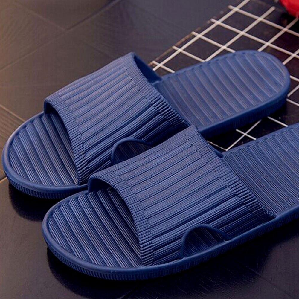 2018 hombres de verano antideslizante casual Flip Flops, sandalias de zapatos de hombre zapatillas Flip-Flops no-slide hombre zapatillas de playa de los hombres