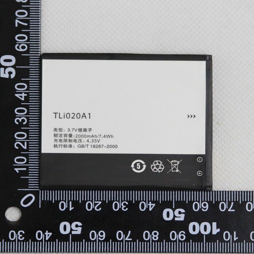 Nueva 2000mah TLi020A1 batería para Alcatel One Touch Pop 3 (5) 4G 5 Dual Sim OT 5065D 5065A 5065X 5065W 5065J 5065T teléfono Batteria