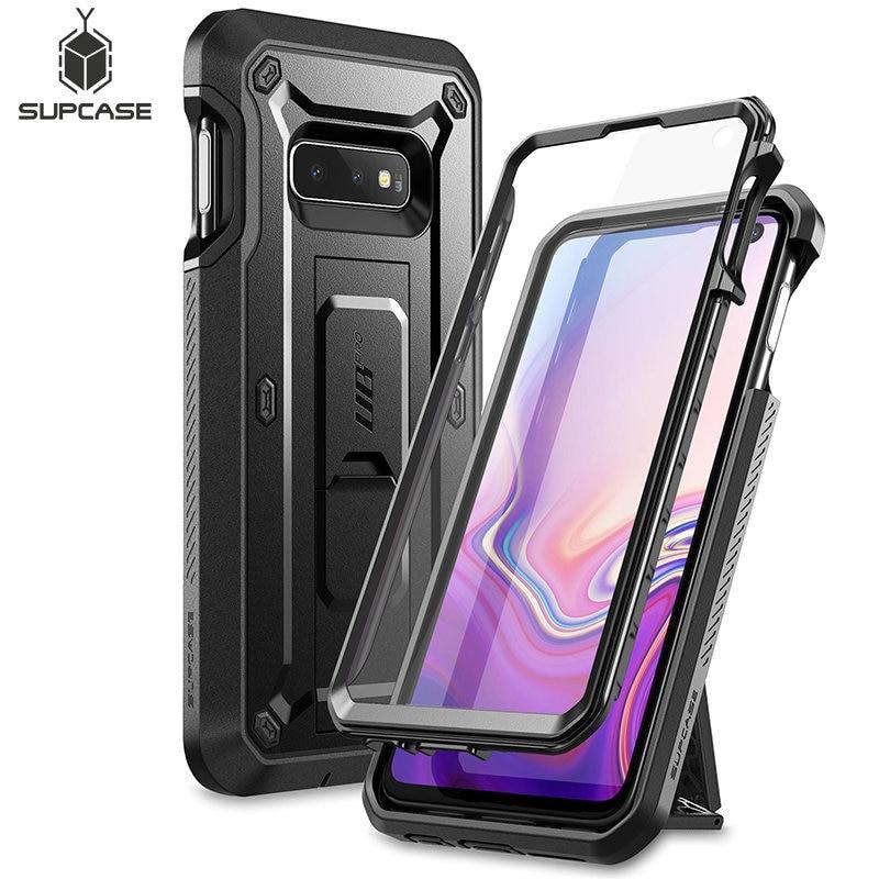 Чехол для Samsung Galaxy S10e 5,8 дюйма UB Pro, прочный защитный чехол со встроенной защитой для экрана и подставкой