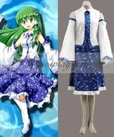 touhou project kochiya sanae cosplay costume e001