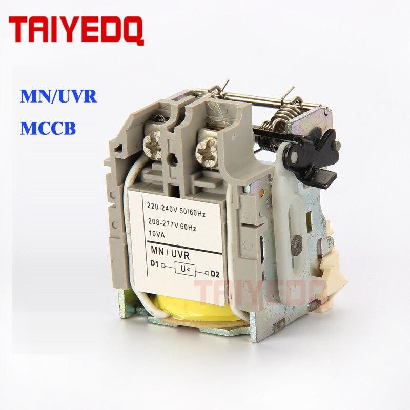 NS/NSX MCCB disjuntor acessório MN/subtensão para MCCB disjuntor AC220V AC380V UVR