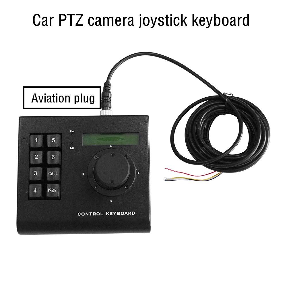 Мини-контроллер клавиатуры для автомобиля, высокоскоростная купольная камера с клавиатурой, 3D Аналоговый джойстик, PTZ камера RS485 для автомо...