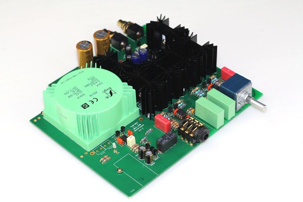 Placa amplificadora de auriculares ZEROZONE Assembeld EX-2 Hifi clase A con L6-36 ALPS Pot