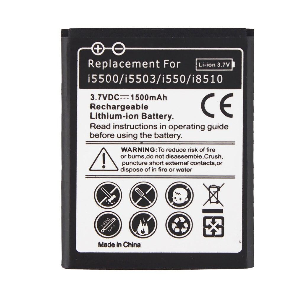 Новая замена 1500mah батареи AB474350BU для Samsung Galaxy 5 i5500 B7722 Europa i5503 i550 i8510 оптовая продажа