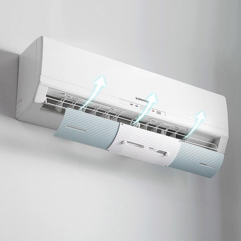 Protector de aire acondicionado ajustable, protector contra viento, Deflector de viento, protector de Deflector de aire acondicionado, parabrisas antidirecto