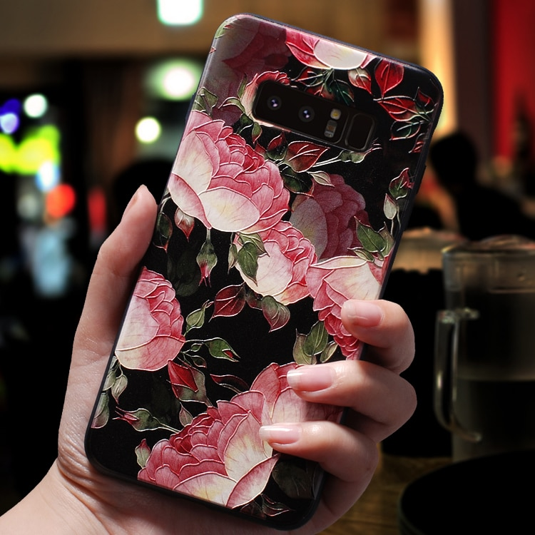 3D relieve Coque para Samsung Galaxy J7 J3 J5 primer A3 A5 J4 J6 J8 A6 A8 S7 S8 S9 más A7 2018, 2016, 2017, nota 8 9 caso TPU