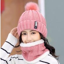Bonnets tricotés de marque pour femmes   Bonnet épais chaud, Bonnet Skullies, Bonnet tricoté, Bonnet à lettres, chapeaux déquitation en plein air, collection hiver