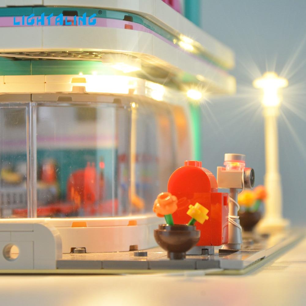 Купить с кэшбэком Lightaling LED Light Kit For 10260 Compatible 15037 LJ99004 , NO Blocks Model