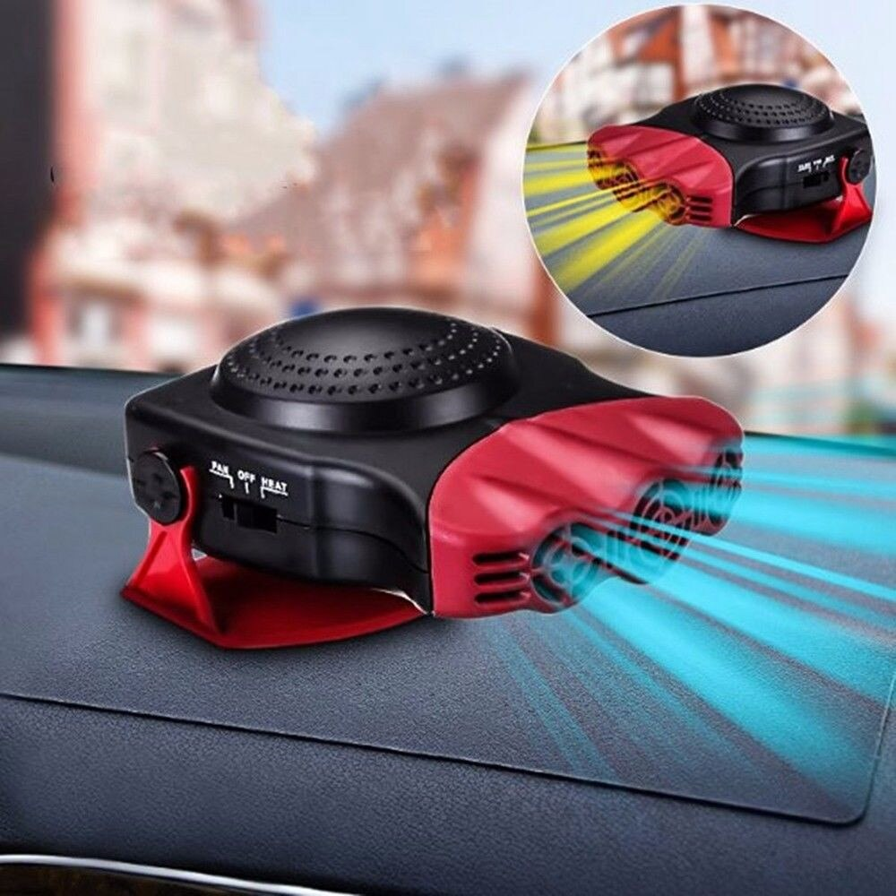 New12V 150W ventilador de refrigeración del vehículo, calentador caliente, Demister, Demister, camión de coche portátil 2 en 1 calentador de