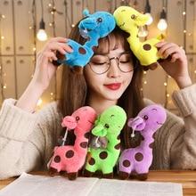 12cm 18cm mignon bébé jouets arc-en-ciel girafe jouets en peluche poupées pour enfants Brinquedos Kawaii cadeau pour bébé cadeaux de noël