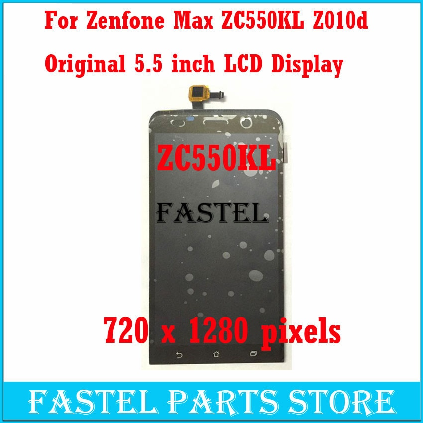 Nuevo teléfono móvil Original ZC550KL pantalla LCD + pantalla táctil para ASUS Zenfone MAX ZC550KL Z010d digitalizador montaje con pista