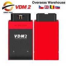 Автомобильный сканер UCANDAS VDM2 VDM II UCANDAS, Wi Fi, VDM 2 V5.2, поддержка нескольких языков и систем Android, бесплатная доставка
