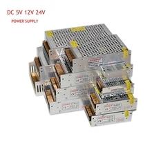 WAKYF zasilacz 24V 2A 3A 5A 12A 15A 20A 30A 40A transformator oświetleniowy dla taśmy LED światła przełączania zasilania sterownik adaptera