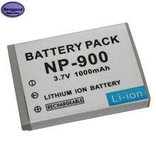 3.7V 1000mAh NP-900 NP900 Batterie pour Appareil Photo Olympus LI80B LI-80B Minolta DIMAGE E40 E50 PREMIER SL4 SL5 SL6 pour BENQ DC C500