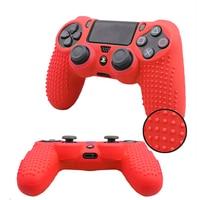 Противоскользящий силиконовый чехол для контроллера Sony PlayStation4 Dualshock 4 PS4 Slim