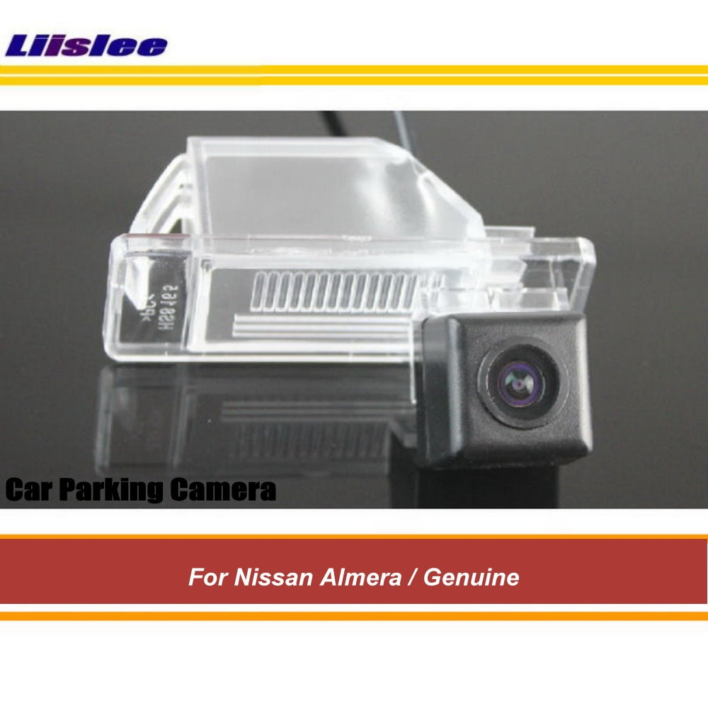 Auto Backup Reverse Camera For Nissan Almera N16/N17/G11 Car Rearview Parking HD SONY CCD III CAM Wide Angle