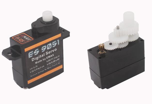 3 uds Emax ES9051 4,3G Ultra Mini Servo del PPE 3D f3p interior accesorios para modelo a radiocontrol