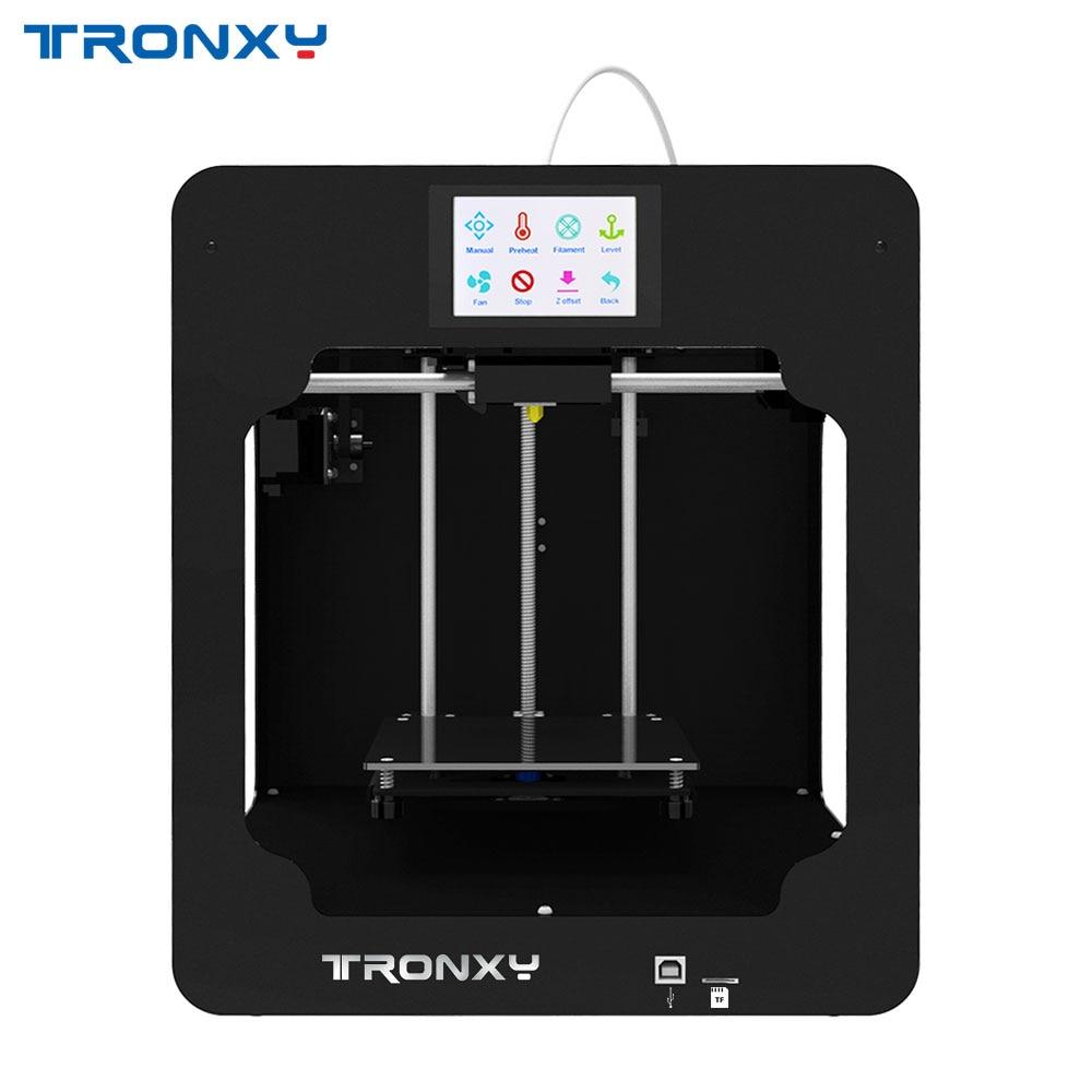 Tronxy C2, extrusora de filamento PLA de aluminio para impresora 3D de escritorio, máquina de impresión 3D flexible FDM