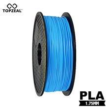 TOPZEAL-imprimante 3D, Filament, matières premières naturelles, haute résistance couleur bleu ciel, 1.75mm de diamètre, 1KG 343m