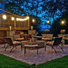 14.4 m 15E27 Sokcet avec 18 pièces S14 11 W ampoule SAA UL ETL approbation dexcellentes idées déclairage extérieur pour votre paysage de jardin