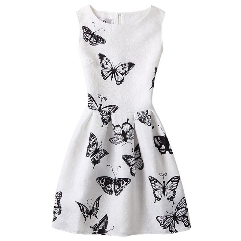 Kvaliteetsed ilusa mustriga kleidid tüdrukutele