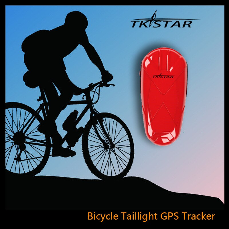 Rastreador GPS impermeable para motocicleta, alarma SOS para bicicleta, dispositivo de seguimiento GPS para motocicleta con función de seguimiento en tiempo Real