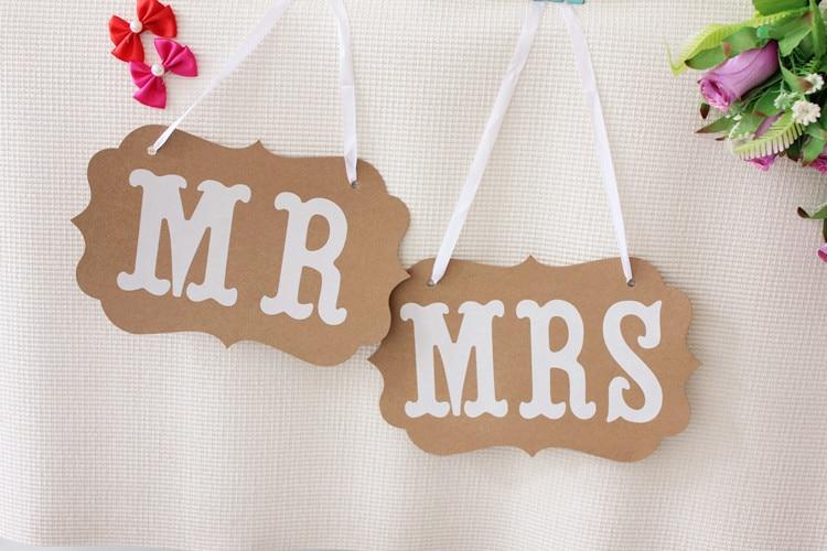 1 conjunto mrmrs banner sinal de casamento nupcial chuveiro festa deco fornecimento mrmrs garland