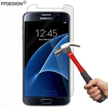 2x Film de Protection décran en verre trempé pour Samsung Galaxy Xcover 4s 4 3 S7 S6 S5 actif S4 S3 Mini Film de Protection en verre
