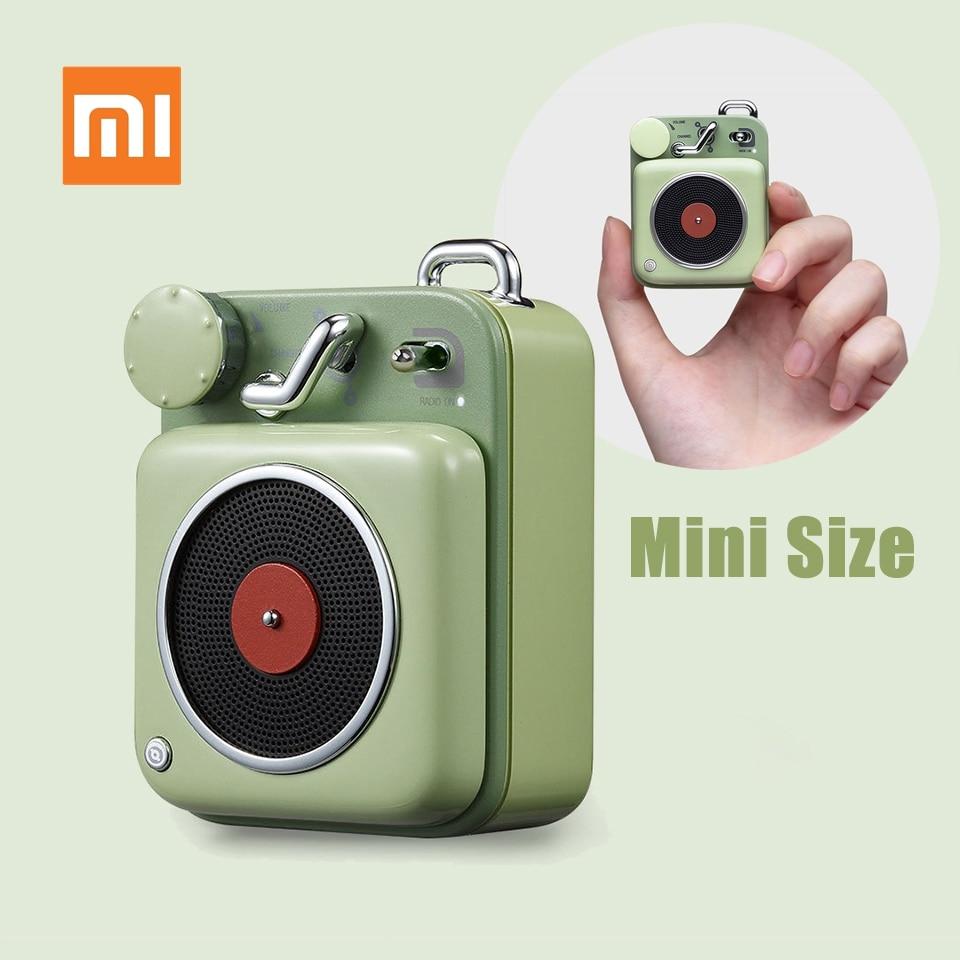 مكبر صوت Xiaomi Mijia Atomic B612 ، مكبر صوت صغير محمول ، مع جيب صوتي ذكي ، موسيقى
