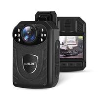 kj21 body worn camera hd 1296p dvr video security cam ir night vision wearable mini camcorders police camera