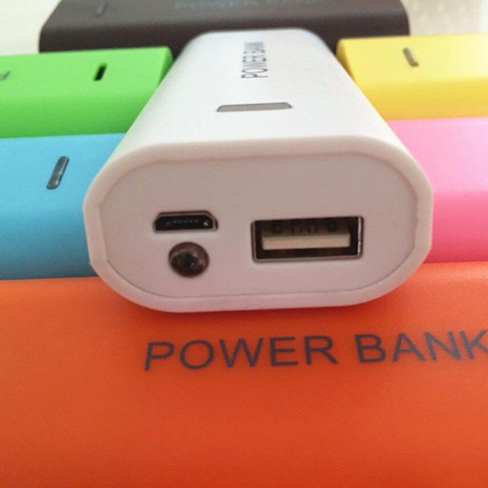 Чехол для мобильного банка питания, Внешнее зарядное устройство 18650, 5600 мАч, 2X 18650 USB, зарядное устройство для аккумулятора, чехол, коробка для MP3 телефона