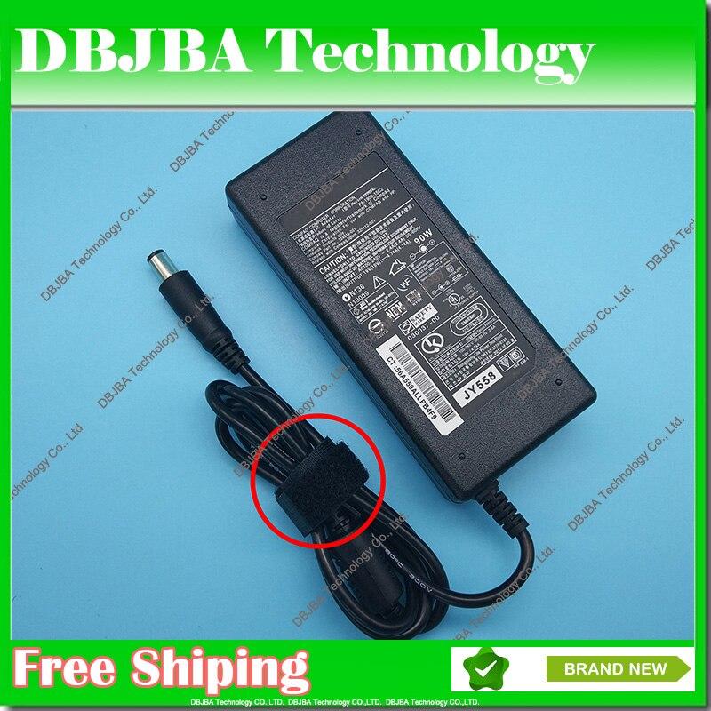 Nueva fuente de alimentación para HP Laptop 19V 4.74A 7,4*5,0 MM AC adaptador cargador para HP Pavilion DV7 DV5 DV6 dv6-1040ED