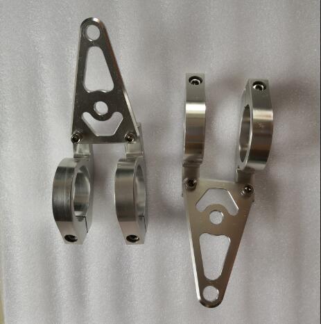 45mm Headlight lamp Bracket adapter clamp CNC Aluminum For Honda Yamaha Kawasaki Monkey Bike
