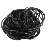 Tube enroule en spirale ID 13mm x OD 14mm 6 metres  cable Transparent  emballage ordonne  PC  Home cinema  Kit dorganisation de la television