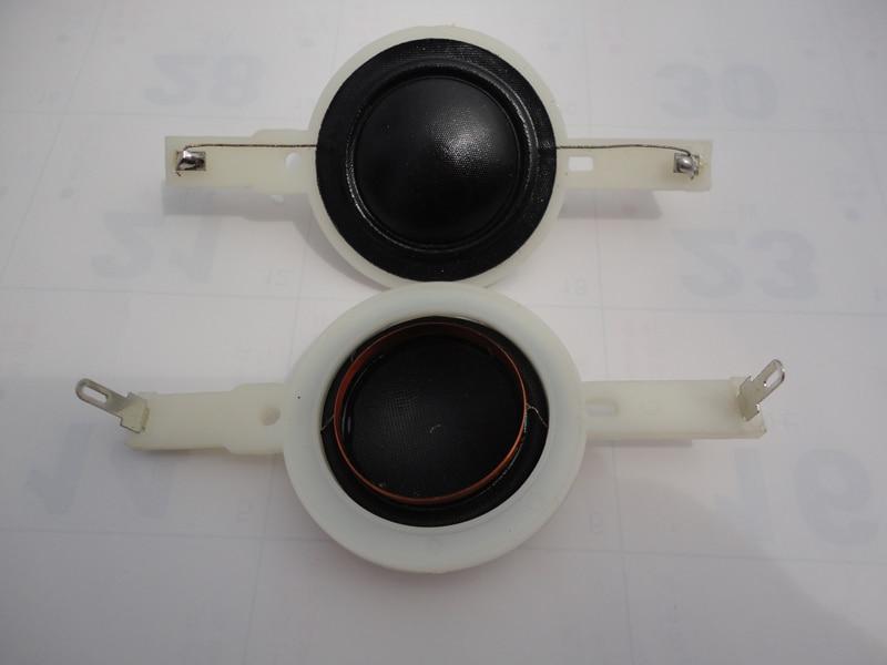 "1 peça ID 25.5mm 1 ""cúpula de seda KSV Tweeters ohm 8 falante de bobina de voz-longo 86mm quadro 100% novo"