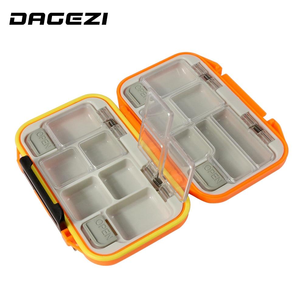 Многофункциональная рыболовная коробка DAGEZI для Поппера, 12 отсеков, регулируемая коробка для рыбалки, Аксессуары для рыбалки
