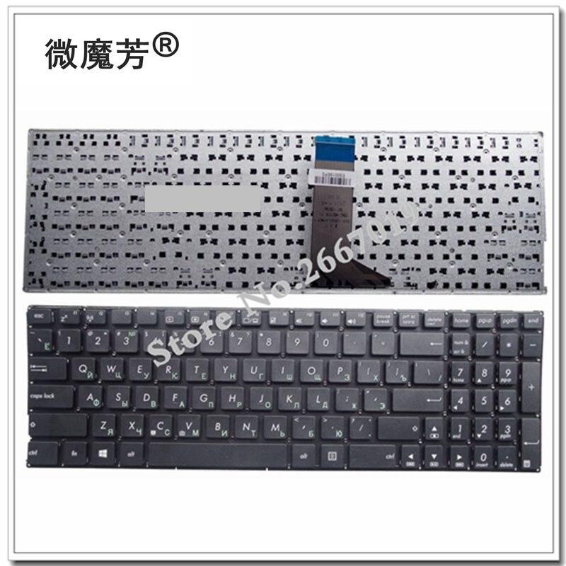 RU для Asus X551M X551MAV F551 F551C F551CA F551M F551MA F551MAV R512 R512CA R512MA R512MAV Клавиатура ноутбука русская Новая черная