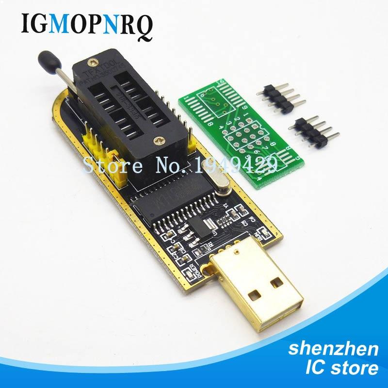 USB eeprom программист ch341a spi программист 24 25 серия eeprom адаптер с программным Драйвером