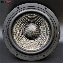 "HIFIDIY LIVE HIFI 8 zoll 8,8 ""Midbass Woofer lautsprecher Einheit 8OHM 160 watt Casting Aluminium Fram Carbon faser Lautsprecher t8-225"