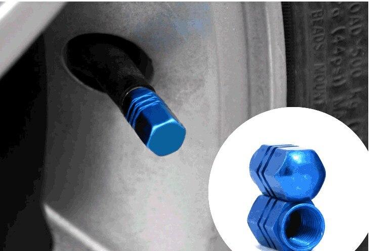 Válvulas de neumáticos de aluminio rueda de coche para Cadillac ATS SRX CTS LINCOLN MK REMOTE para ssangyong kyron y rexton korando actyon