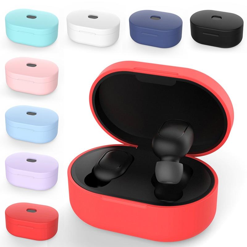 Cubierta protectora de silicona para auriculares Xiaomi Redmi Airdot, auriculares inalámbricos con tecnología TWS y Bluetooth, modelo TSBJ1