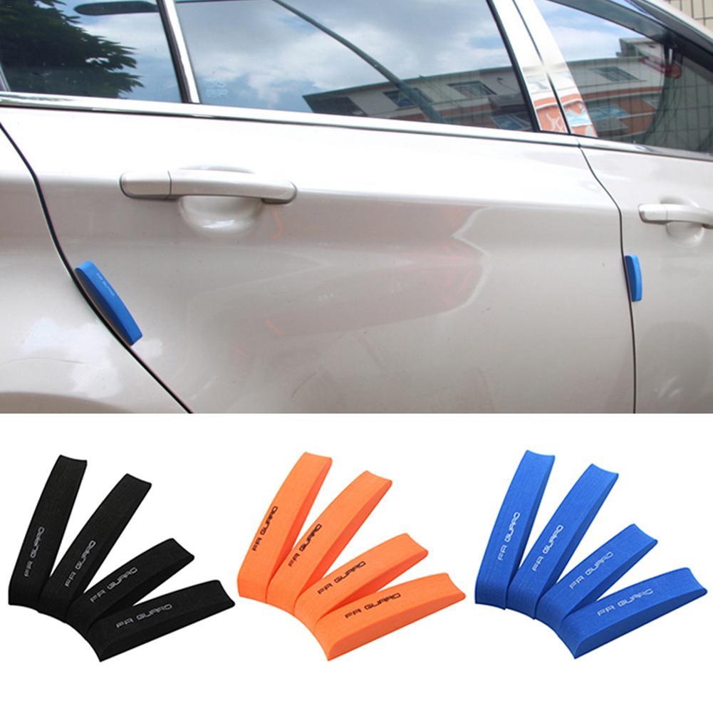 4 pçs/set EVA Espuma Tira Guarda Borda Da Porta Do Veículo Do Carro Zero Colisão Decoração Adesivo Scratch Protetor de Borda Da Porta Do Carro Universal