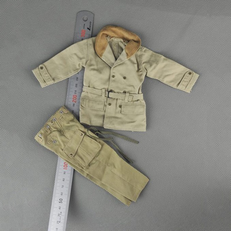 1/6 U.S Army Airborne Paratrooper Winter Clothes Set for 12 Male Bodies