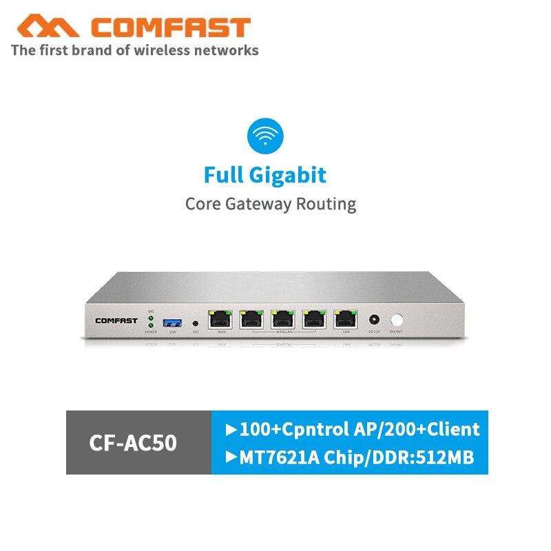 880 mhz duplo núcleo ac controlador gigabit gateway completo roteamento multi-wan 5*1000 mbps rj45 porta acesso carga equilíbrio qos pppoe servidor