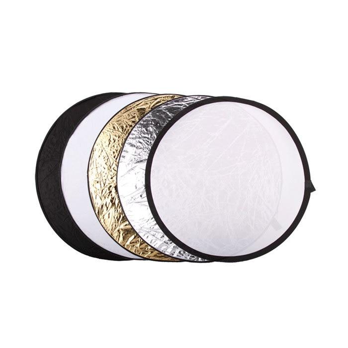 """Godox ACCESORIOS FOTOGRÁFICOS 80 cm/32 """"5 en 1 difusor de luz plegable disco Reflector de luz de estudio de fotografía redondo"""