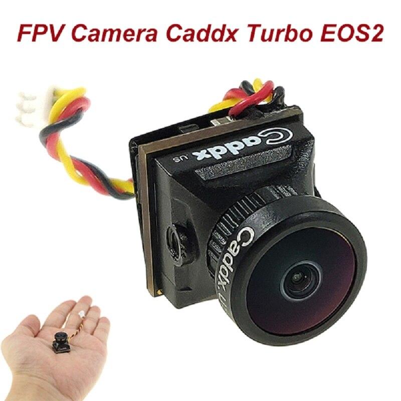 FPV Camera Caddx Turbo EOS2 1200TVL 2.1mm 1/3 CMOS 16:9 4:3 Mini FPV Camera Micro Cam NTSC/PAL For R