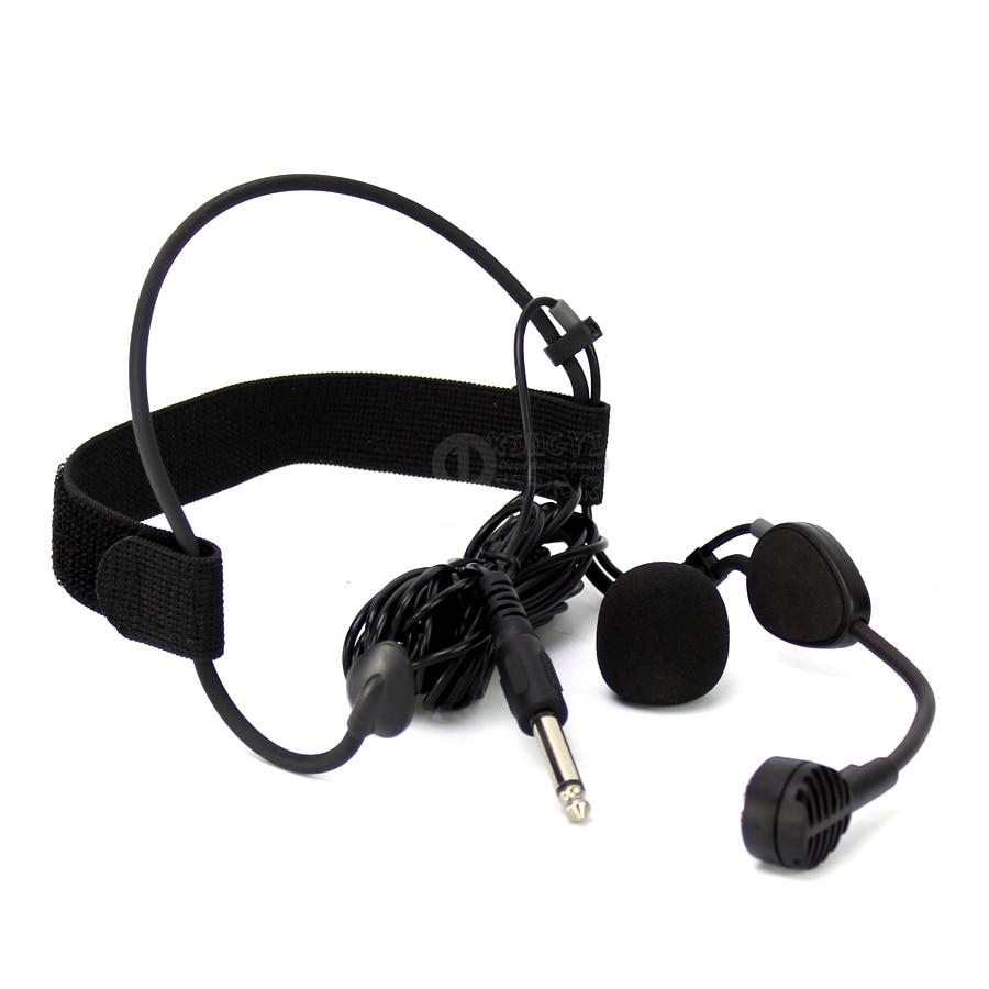 6.35mm Jack Earhook Mic Dynamic Microphone Capsule For WH20TQG Musical Instruments Guitar Sax Drum Audio Mixer DJ Singing PC KTV