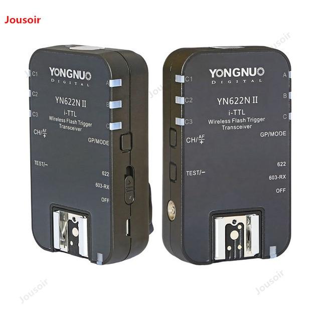 YN-622NII sans fil TTL Flash déclencheur HSS 1/8000 s 685N 968N SLR caméra Flash déclencheur CD50 T03