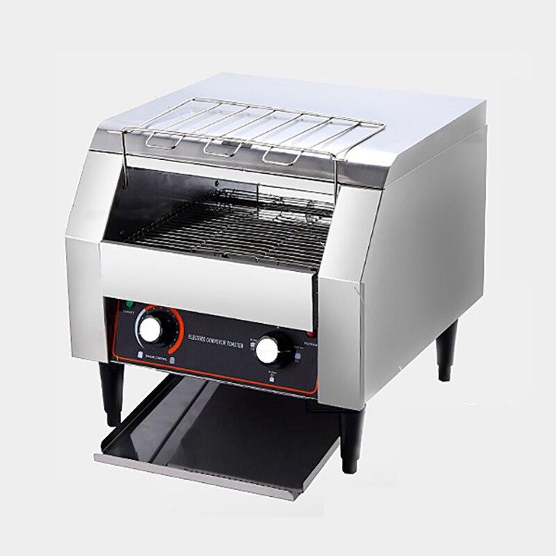 Tostadora comercial sobre orugas, tostadora calentadora de pan, bufé, ECT-2415