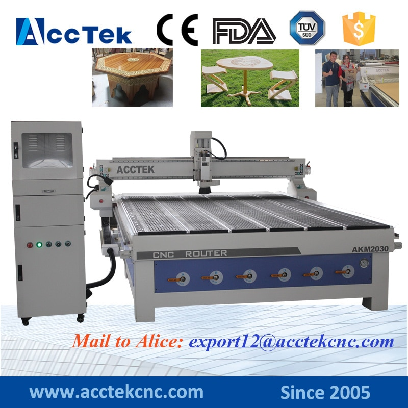 AKM2030 CNC router 3 axis 4 axis 3D Engraving Machine Wood Carving Machine Wood Working Machine Combination enlarge